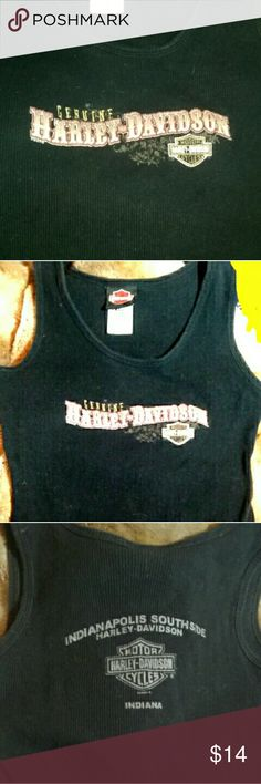 Harley Davidson tank top Harley Davidson tank top from Indianapolis Southside Harley Davidson Harley-Davidson Tops Tank Tops