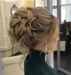 Bridesmaid Hair Updo, Bridal Hair Updo, Bride Hairstyles, Pretty Hairstyles, Musical Hair, Mother Of The Bride Hair, Hair Up Styles, Wedding Hair Inspiration, Wedding Hair And Makeup