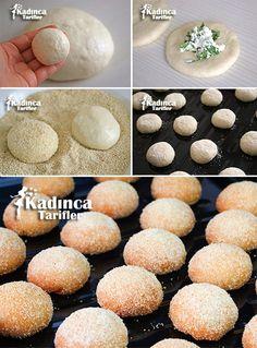 Bayatlamayan Peynirli 3-2-1 Poğaça Tarifi Turkish Recipes, Yogurt, Food And Drink, Cooking Recipes, Cookies, Baking, Cake, Pikachu, Health