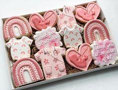 Thank You Cookies, Fancy Cookies, Iced Cookies, Cute Cookies, Royal Icing Cookies, Sugar Cookies, Babyshower, Baby Shower Cookies, Birthday Cookies