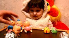 ВЛОГ Кукла пупс с ароматом сюрпризы малыши и сестрички игрушки Yogurtinis doll unboxing surprise toys//Забавная малышка Funny baby Indoor family fun in child...