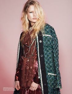 Anna Ewers Kirsty Hume by Glen Luchford for Self Service Magazine