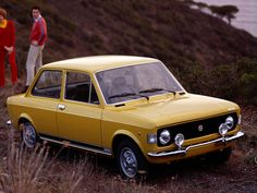 Fiat 128 Rally - I love that classic three box look. It looks so clean compared to the blobs that the Japanese, Koreans, and Americans try to sell today.