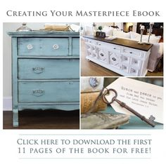 Worth looking into. Ebook on how to paint furniture.