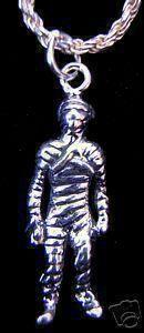 New Mummy Egypt Halloween Egyptian Silver Charm Jewelry Sterling Silver 925 Jewelry