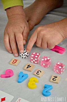Count and sort Math Activity for preschool or Kindergarten.
