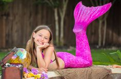 My daughter wants to be a mermaid for a day - I think this would help make that dream a reality!