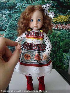 Милашка. Авторская кукла Кондрашовой Ирины / Авторские куклы своими руками, ООАК / Бэйбики. Куклы фото. Одежда для кукол