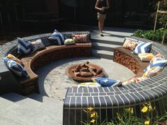 Sunken Designs Let You Explore The Depths Of Style Fire Pits Garden Seating Fire Pit