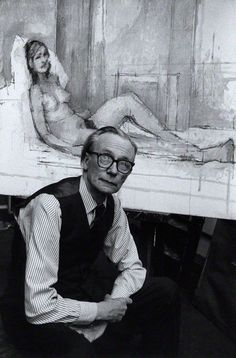2/28- Happy Birthday, Sir William Coldstream CBE, English realist painter, war artist, art educator, 1908 -1987.