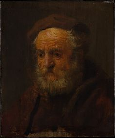 Style of Rembrandt (Dutch, mid- to late 1630s). Study Head of an Old Man. The Metropolitan Museum of Art, New York. Bequest of Lillian S. Timken, 1959 (60.71.16)