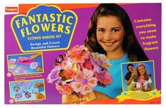 Fantastic Flowers 90s toy