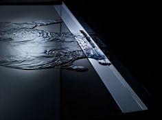 CeraWall S - innovativer Wandablauf mit verchromter Ablaufschiene - Dallmer