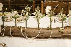 nature inspired centerpiece | Wendy Grant Photography