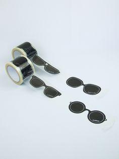 sunglasses masking tape!
