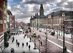 Rotterdam-Coolsingel vóór 1936.