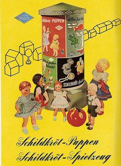 1954 Schildkrötpuppen