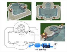 advanced pool design, swimming pool design, swimming pool plans