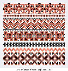 cross stitch patterns traditional switzerland - Google Search