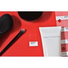 #TBT: color checking our holiday gift set boxes. #pantone #betterbeauty