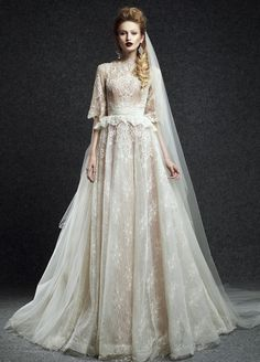 """Ersa Atelier F/W 2015 Wedding Collection - Hedda """