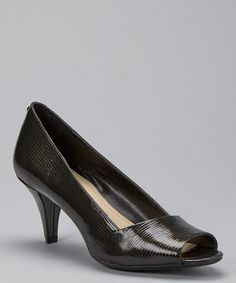 Love this Black Patent Leather Parisa Pump by Calvin Klein on http://www.zulily.com/?SSAID=930758&tid=acceleration_930758 #zulily! #zulilyfinds