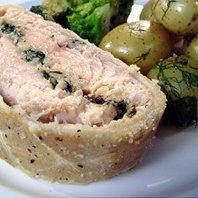 Channel 4 Scrapbook - Salmon en croûte recipe