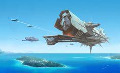 concept ships: Concept ships by Smyk Vitaliy