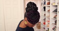braided-hair-bun