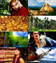 droo216:   fake movie meme→ The Road to El Dorado, live action dreamcast  Chris Pine as Miguel Orlando Bloom as Tulio Rihanna as Chel