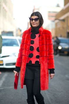 The Big Chill: Street Style at New York Fashion Week