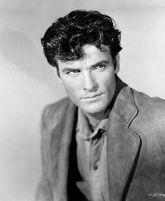 James Best (July 26, 1926- April 8th 2015) Grew up with hims as Roscoe on the Dukes of Hazzard but check out his younger days. So handsome.