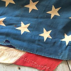 48 star flag repaired