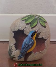 Christine Onward - art and interior decor - Powered by Rock Street Collective . - Christine Onward – art and interior decor – Powered by Rock Street Collective – - Painted Rock Animals, Painted Rocks Craft, Hand Painted Rocks, Stone Art Painting, Pebble Painting, Pebble Art, Rock Painting Patterns, Rock Painting Designs, Rock Crafts
