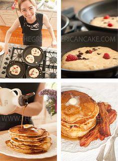 A minha receita de Panquecas Americanas <3 My recipe for Buttermilk Pancakes