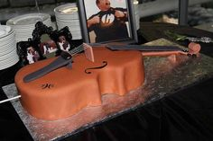 Cello Cake - How did they do the strings?