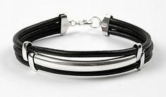 11011 Armband met tussenstaaf