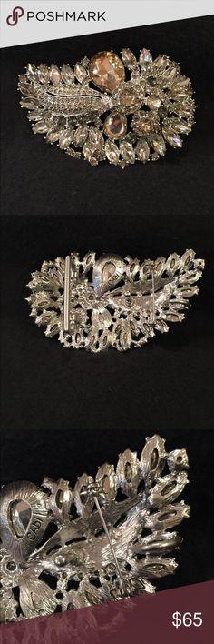 NWOT Cabi Paisley Rhinestone Belt Buckle Style #2010 NIB Paisley Rhinestone Buckle. Or wear it as a pin/brooch -- Fall 2014 line CAbi Accessories Belts