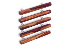 Natural collection cabinet pulls in cocobolo (heartwood/sapwood) by Tantalus Design Hardware, Cabinet, Architecture, Natural, Wood, Modern, Collection, Design, Clothes Stand