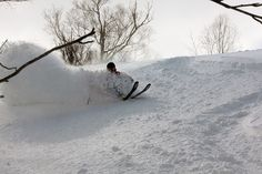 Skiing in Niseko. Where steep meets deep. Ski Ski, Ski And Snowboard, Snowboarding, Niseko Japan, Skiing In Japan, Ski Magazine, Snow Skiing, Winter Snow, Powder