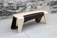 Sleek Bench with interest