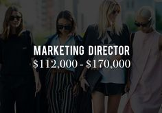 Exposed: The REAL Salaries of Every Major Fashion Job via @WhoWhatWear