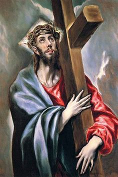 Christ Bearing the Cross, by El greco