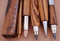 Creative Wood, Writing, Art, Director, and Zebrano image ideas & inspiration on Designspiration My Planner Colibri, Design Industrial, Pens And Pencils, Mechanical Pencils, Pen And Paper, Writing Instruments, Crayon, Drawing Tools, Creations
