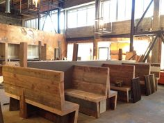 brooklyn to west: Build restaurant booths | Crossroads Ideas ...