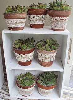 love the lace wrap-Spring décor by Sofias bod www.MadamPaloozaEmporium.com www.facebook.com/MadamPalooza