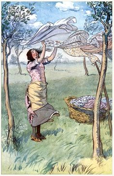 Gorgeous Apron Art: Hugh Thomson, from The merry wives of Windsor, by William Shakespeare, New York, 1910.