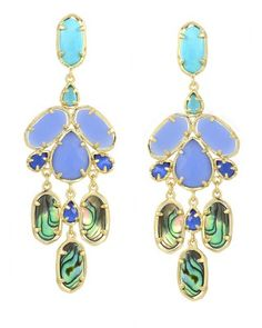 Kyra Chandelier Earrings in Fiji - Kendra Scott Jewelry