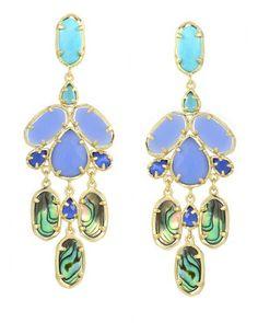 Kyra Chandelier Earrings in Fiji - Kendra Scott Jewelry