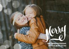 Add your favorite family image to this cheerful and chic holiday photo card. 'All is Bright' by Petite Alma for Tiny Prints